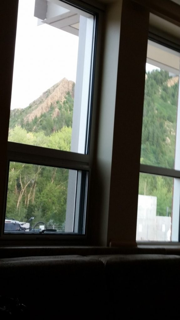 hospital room view 1