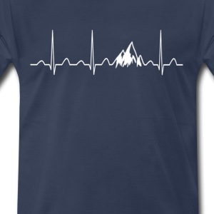 mountain-heartbeat-men-s-premium-t-shirt