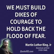 king mlk courage