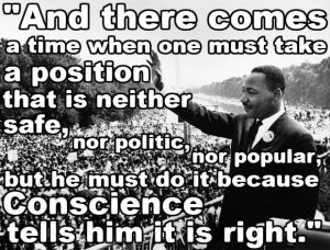 king mlk right