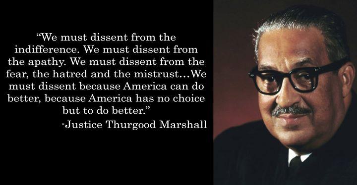 marshall dissent evil