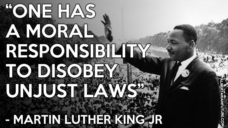 mlk king evil responsiblity