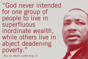 mlk king wealth poverty