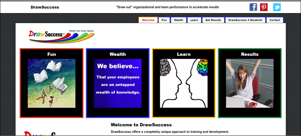 DrawSuccess website